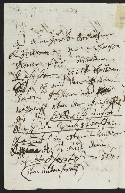 Ludwig van Beethoven autograph letter to the Chevalier Josef de Varena, 1813 May 27