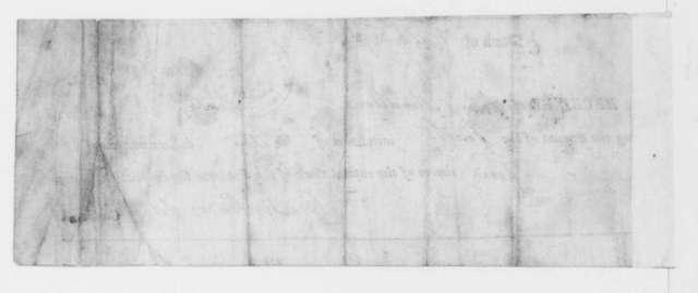 Overton Carr to James Madison, July 22, 1813. Receipt for installment for stock in the Potomac Steam boat Co.