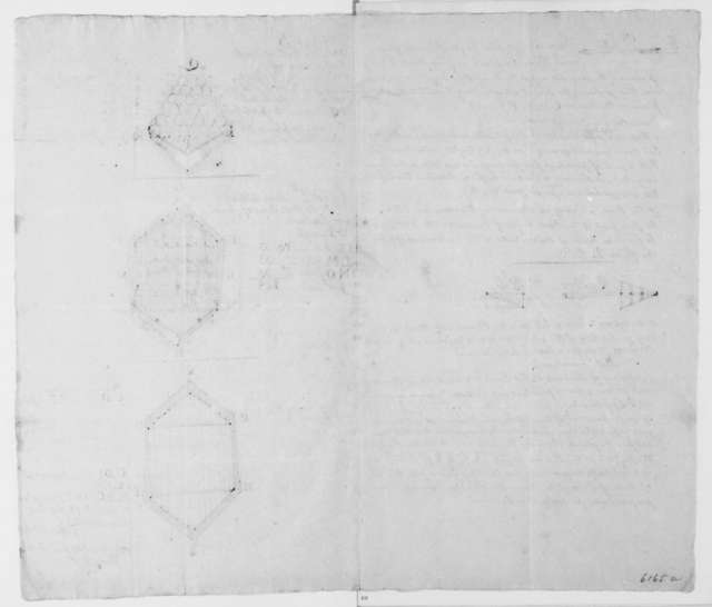 Peter Delivet to James Madison, May 26, 1813. Strategy to remove English vessels from the Chesapeake Bay, includes diagrams.