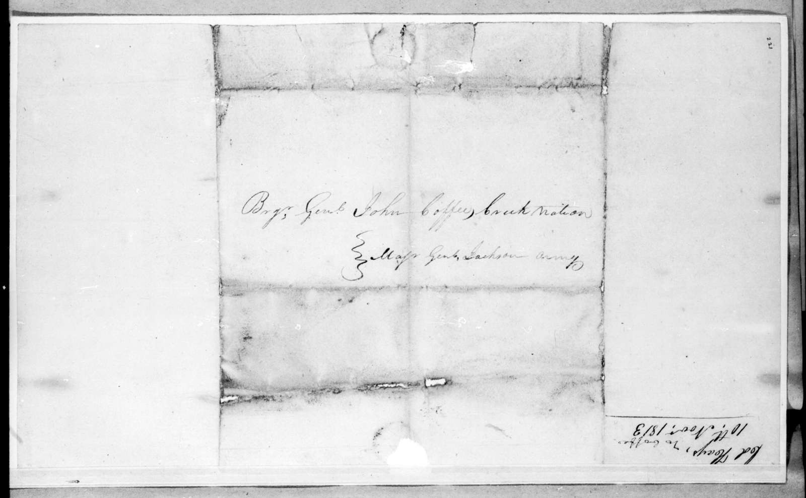 Robert Hays to John Coffee, November 12, 1813