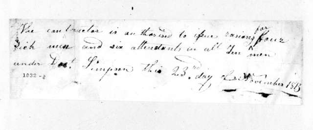 Simpson, November 23, 1813