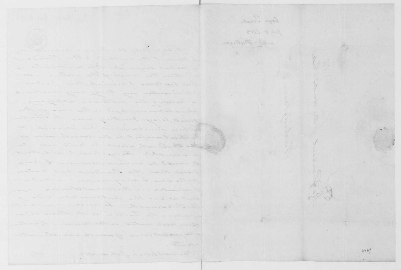 Tench Coxe to James Madison, July 8, 1813.
