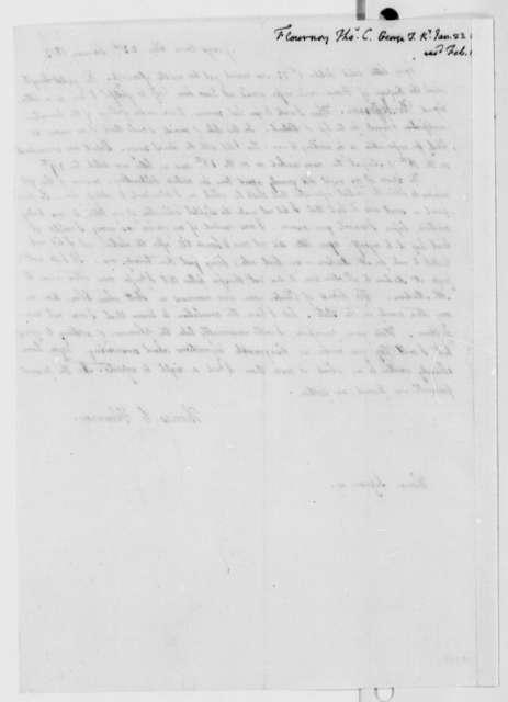 Thomas C. Flournoy to Thomas Jefferson, January 23, 1813