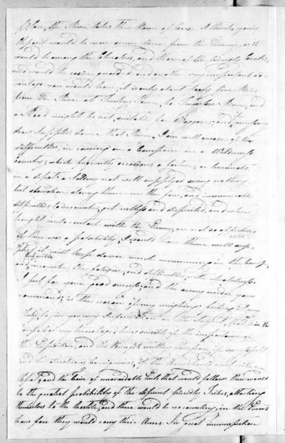 Thomas Casey to Andrew Jackson, October 20, 1813