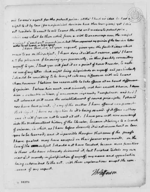 Thomas Jefferson to Isaac McPherson, August 13, 1813