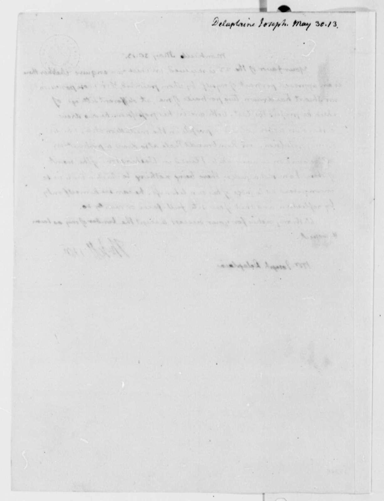 Thomas Jefferson to Joseph Delaplaine, May 30, 1813