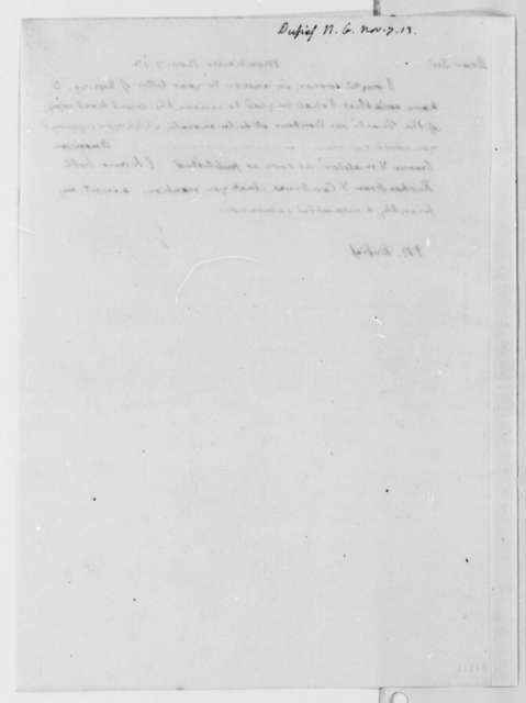 Thomas Jefferson to Nicholas Gouin Dufief, November 7, 1813