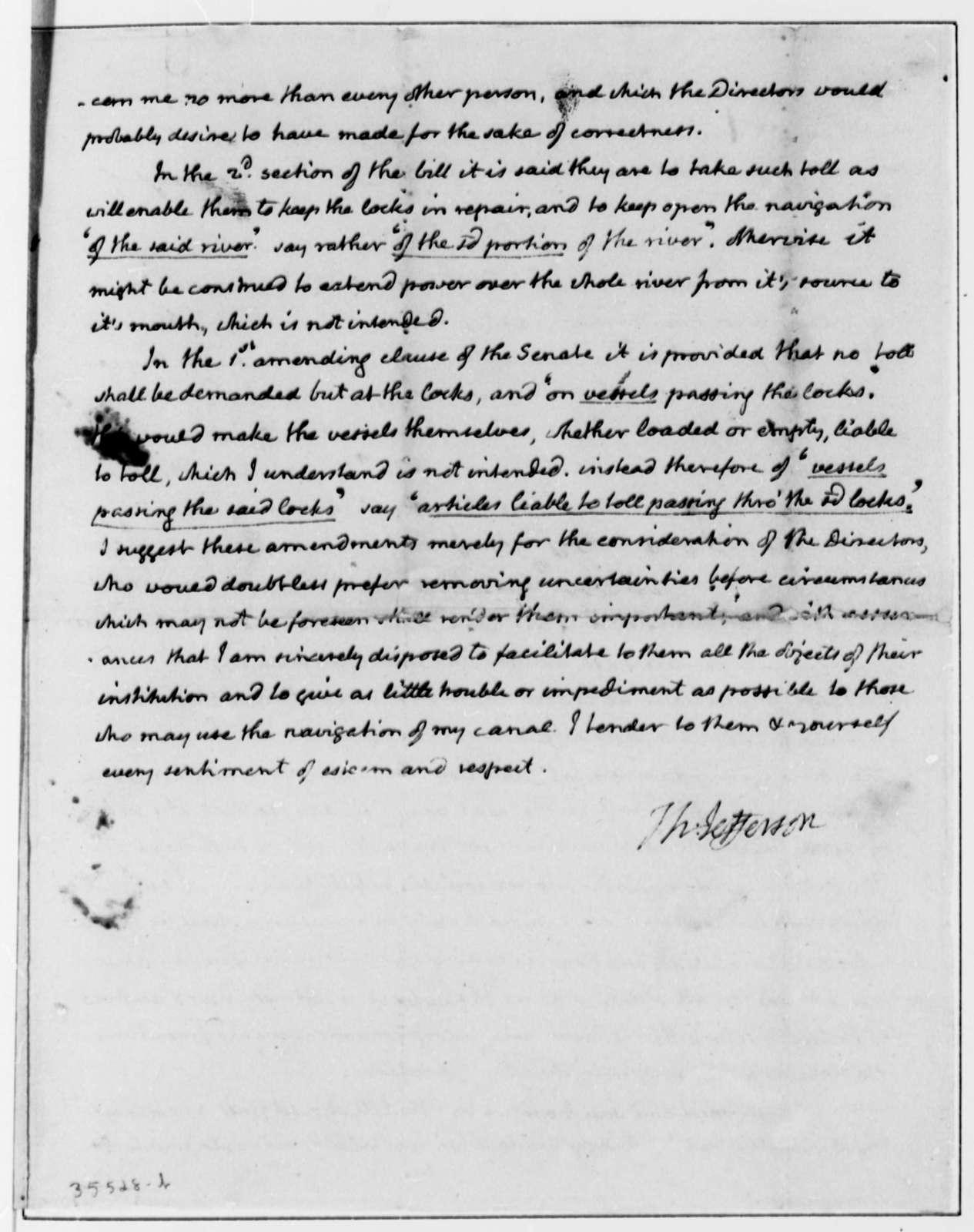 Thomas Jefferson to Peter Minor, November 18, 1813