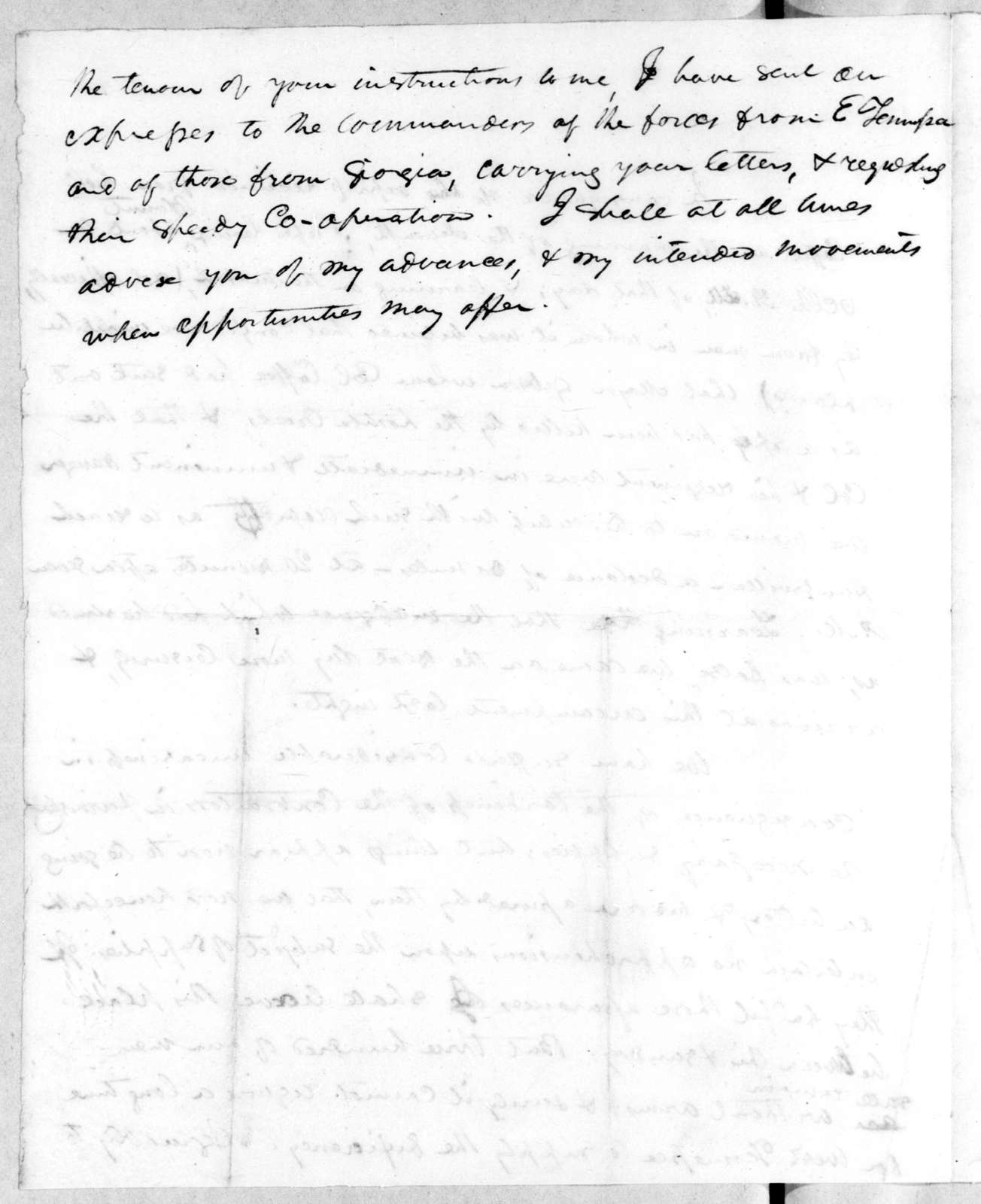 Unknown to Unknown, October 13, 1813