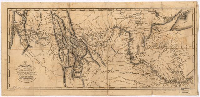A map of Lewis and Clark's track across the western portion of North America, from the Mississippi to the Pacific Ocean : by order of the executive of the United States in 1804, 5 & 6 /