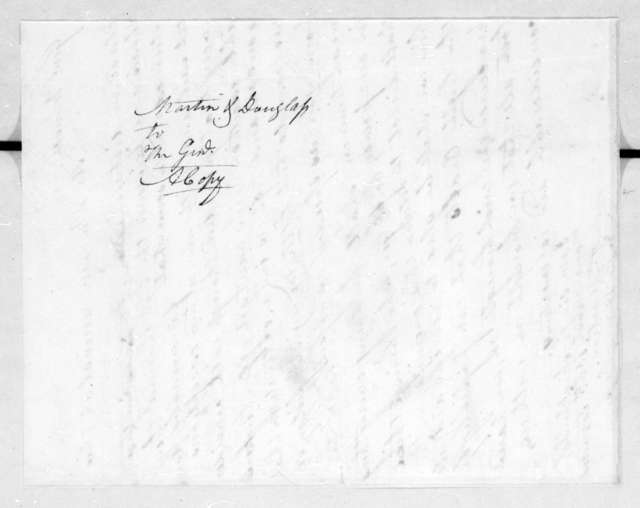 Alfred H. Douglas to Thomas Johnson, April 18, 1814
