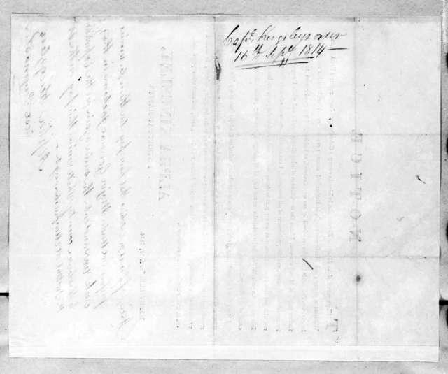 Alpha Kingsley, September 16, 1814