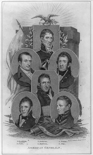 American generals / Tanner, Vallance, Kearny & Co. sc.
