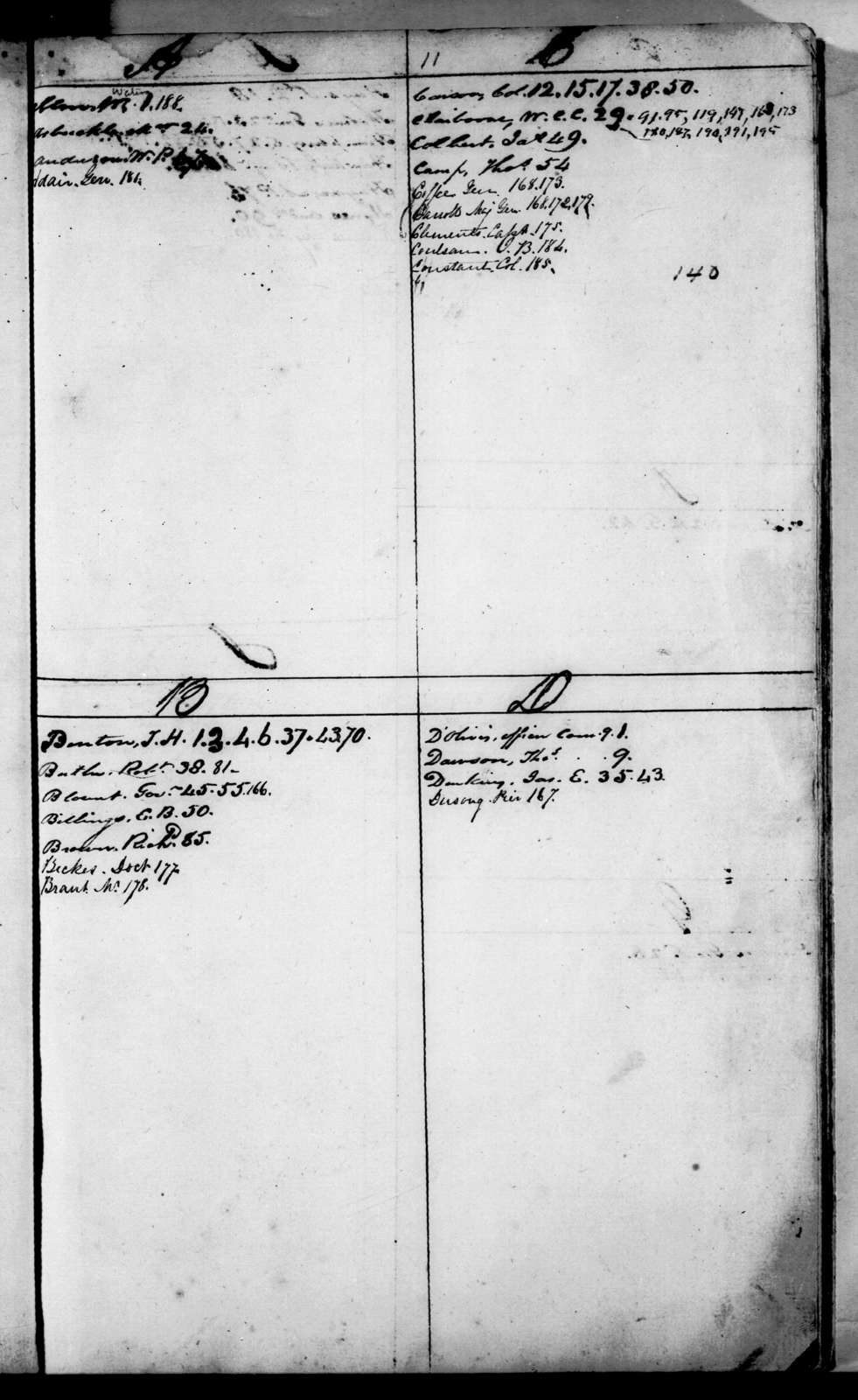 Andrew Jackson Letterbooks, Vol. H - Letters and Orders, September 1814 - January 1815