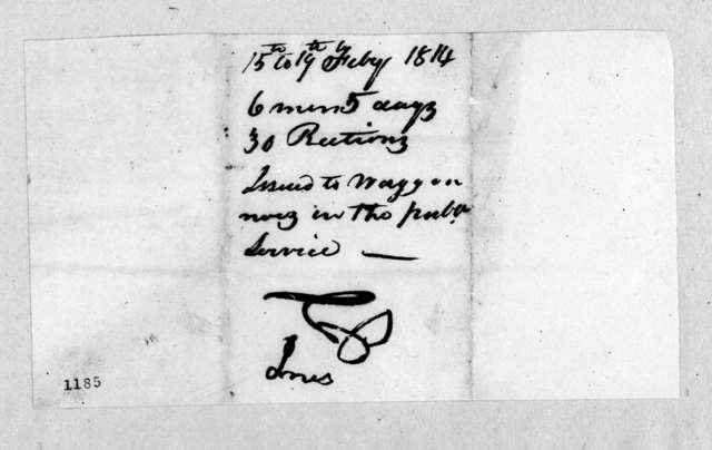 Andrew Jackson to William Berkeley Lewis, February 17, 1814