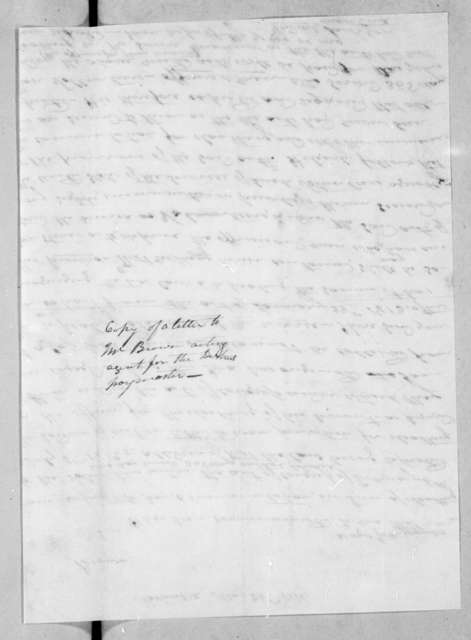 Andrew Jackson to William Brown, May 26, 1814