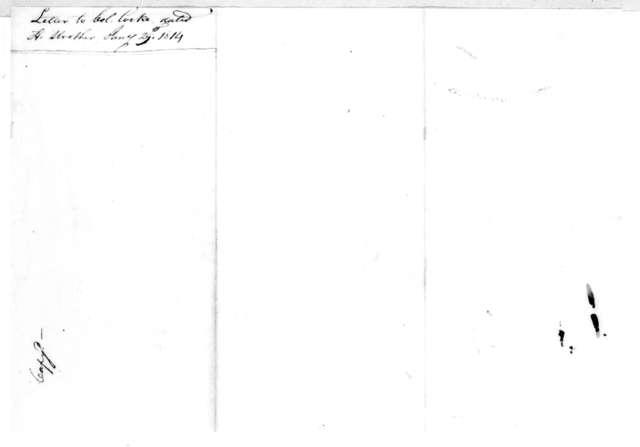 Andrew Jackson to William Cocke, January 29, 1814