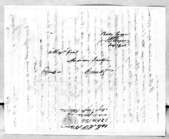 Arthur Peronneau Hayne to Andrew Jackson, October 23, 1814