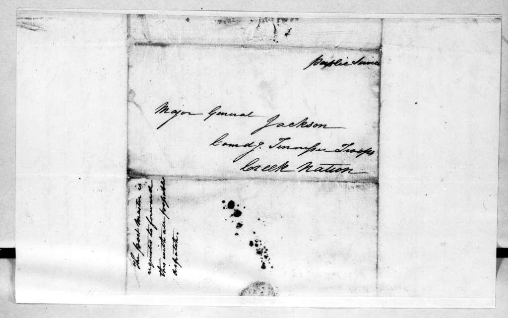 Benjamin D. Heriot to Andrew Jackson, March 22, 1814