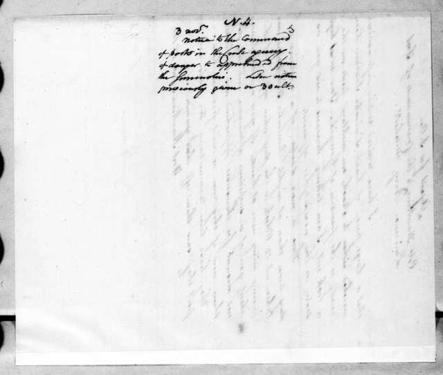 Benjamin Hawkins, November 3, 1814