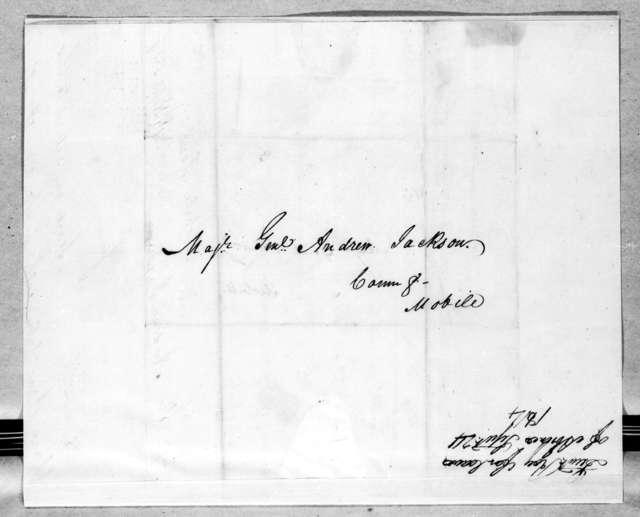 Beverley Roy to Andrew Jackson, September 24, 1814