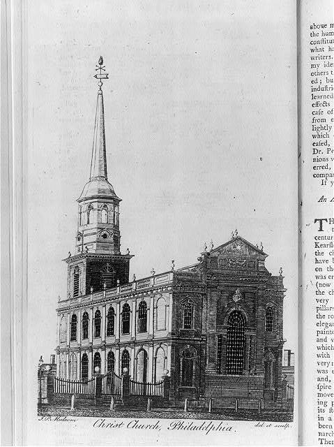 Christ Church, Philadelphia / J.P. Malcolm del. et sculp.