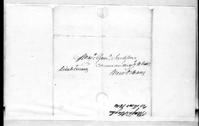 Daniel Hughes to Andrew Jackson, December 20, 1814