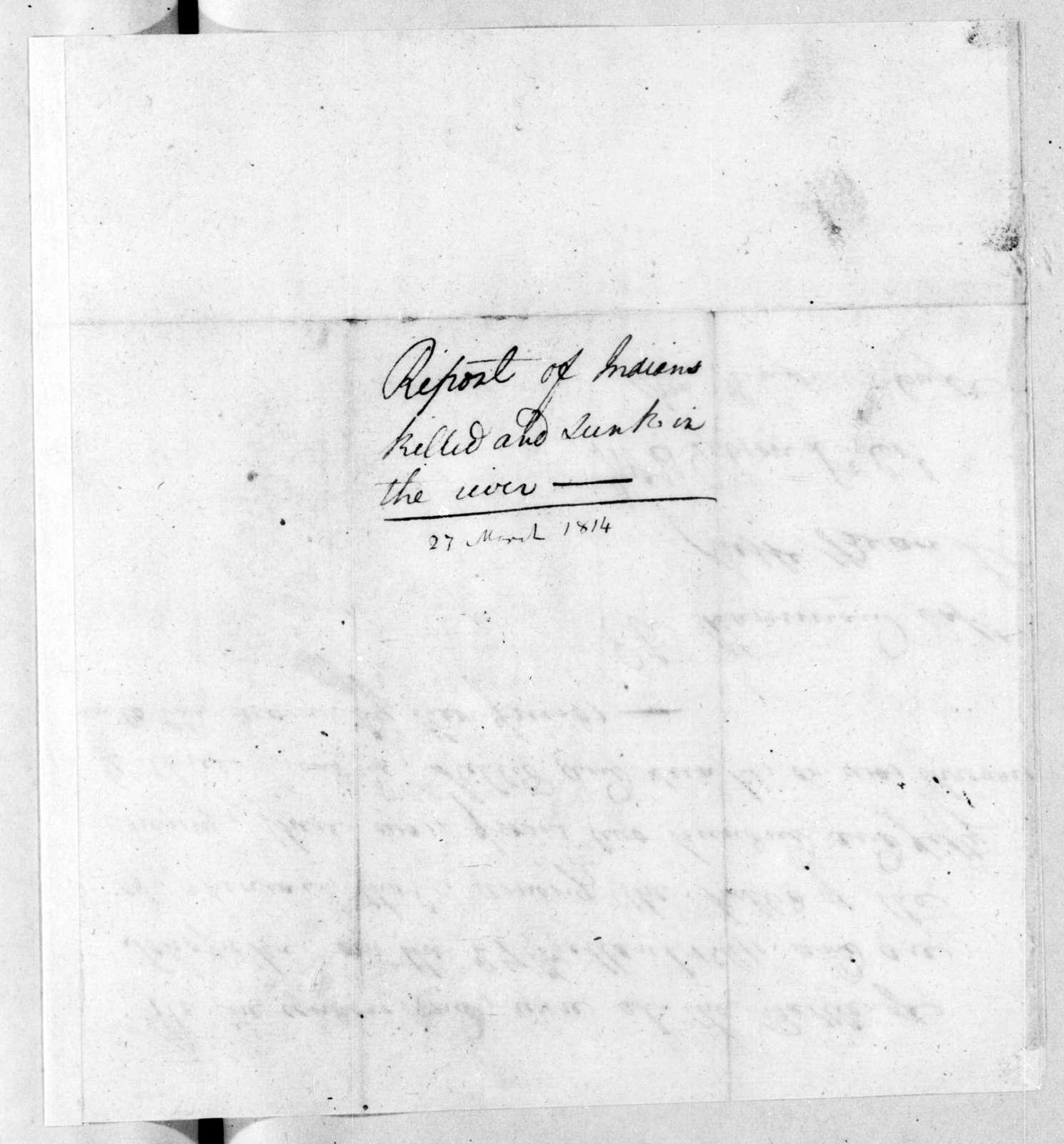 Eli Hammond et al., March 27, 1814