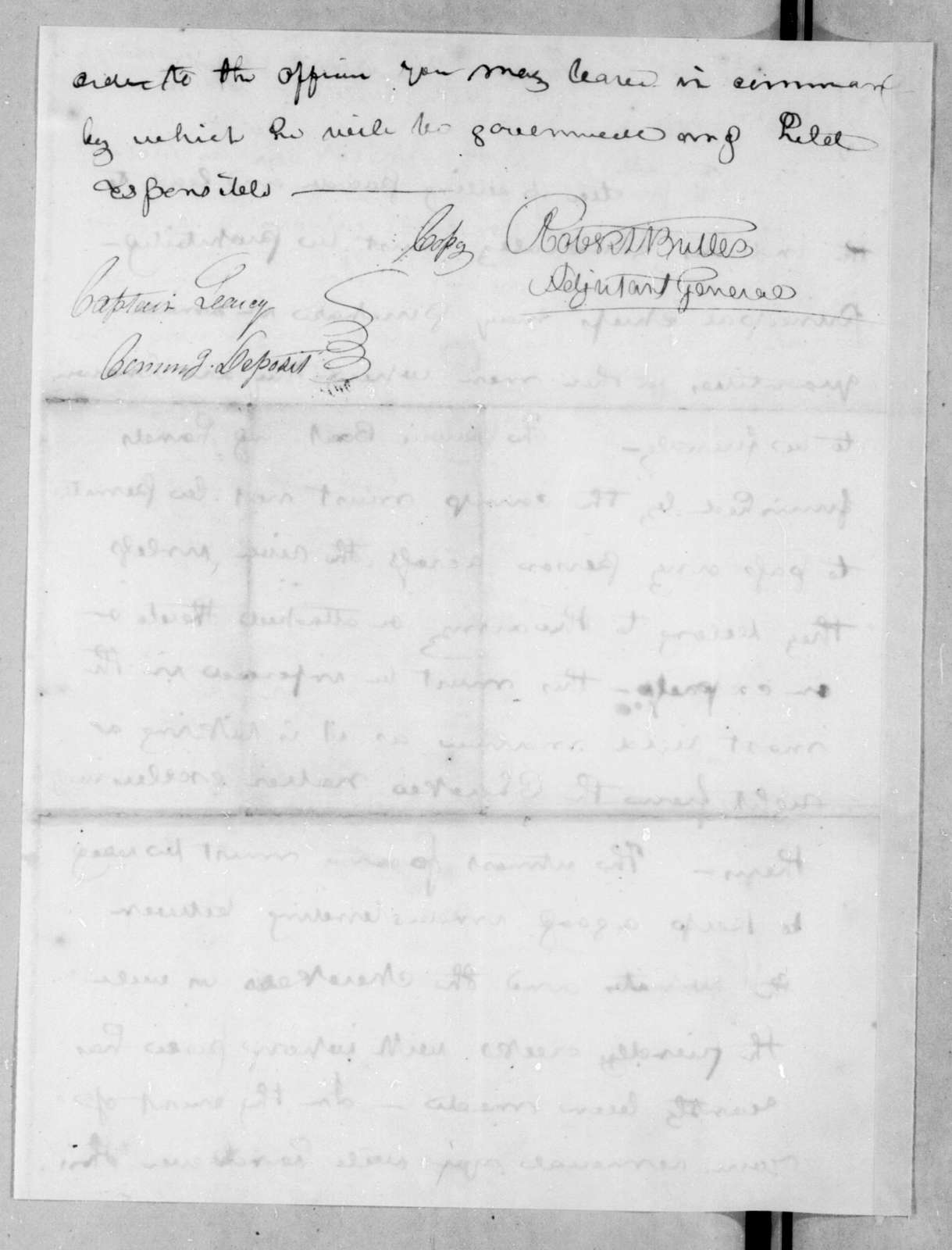 Evert Bogardus to Richard Sparks, August 15, 1814