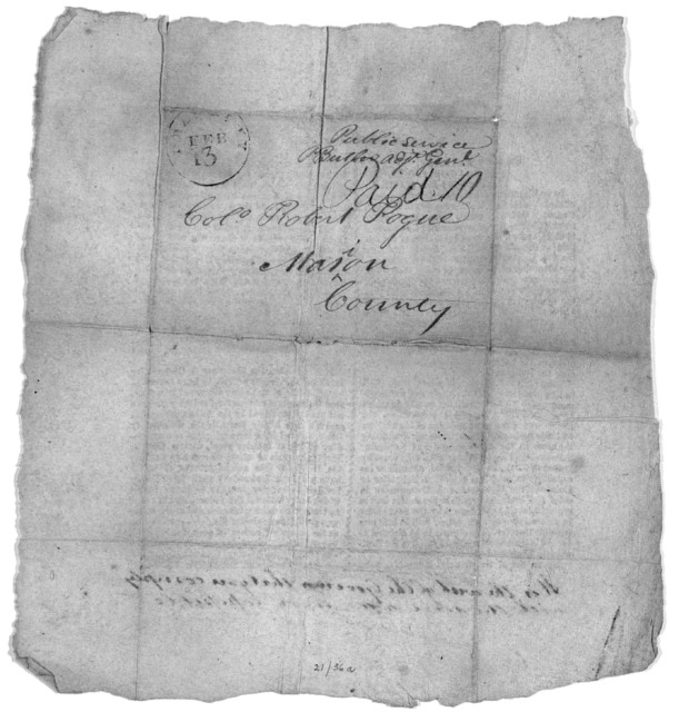 General orders. State of Kentucky. Adjutant General's office. Frankfort Feb. 5, 1814 ... P. Butler, Adj. Gen.