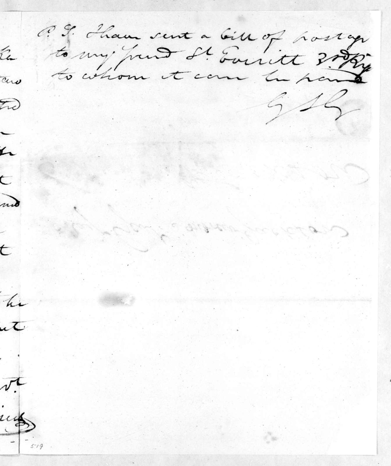 George Strother Gaines to Andrew Jackson, July 17, 1814