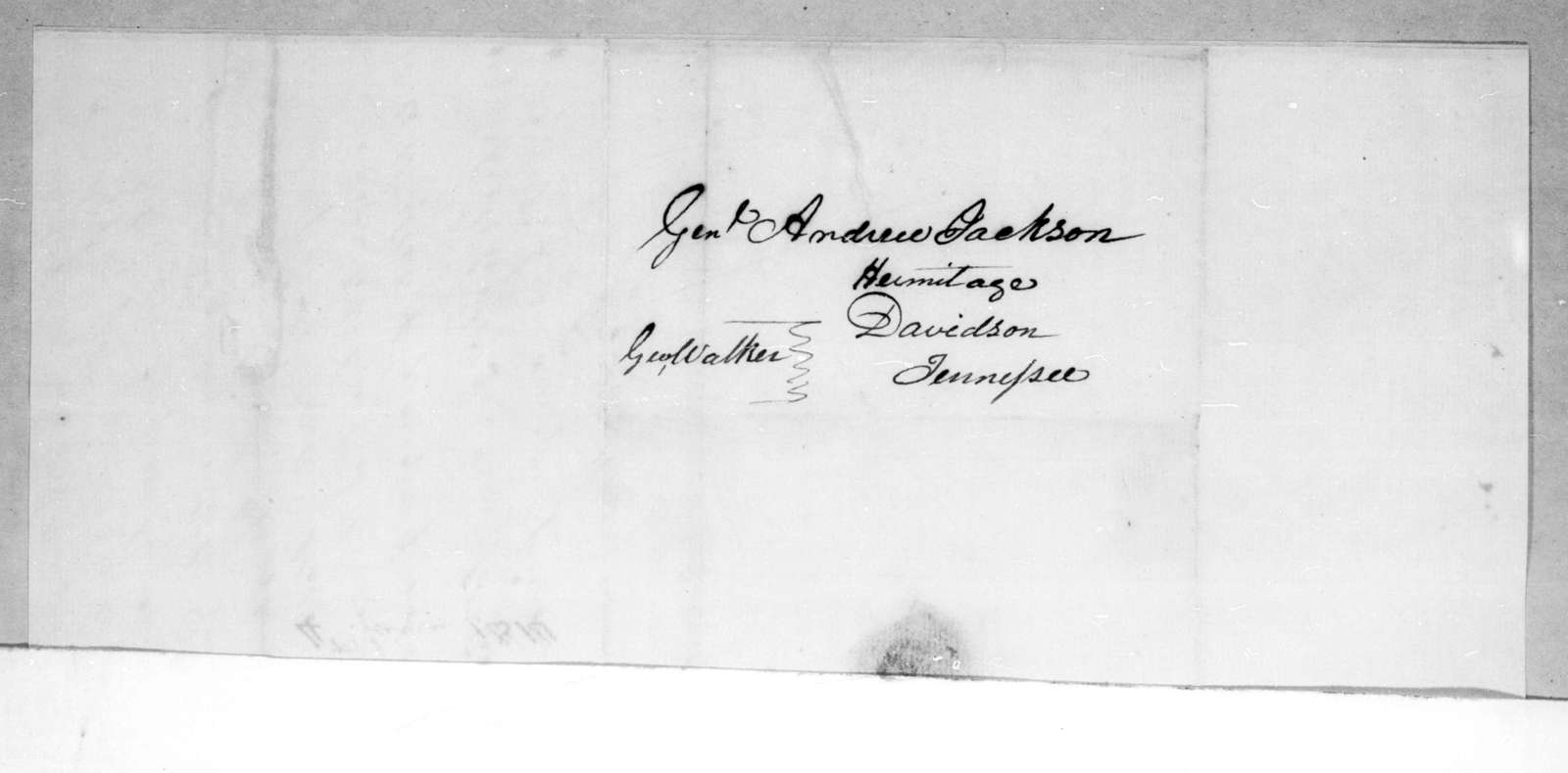 George Walker to Andrew Jackson, June 4, 1814