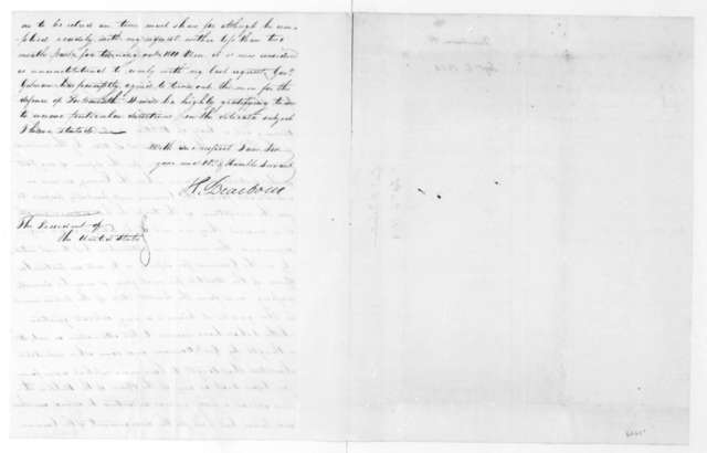 Henry Dearborn to James Madison, September 6, 1814.