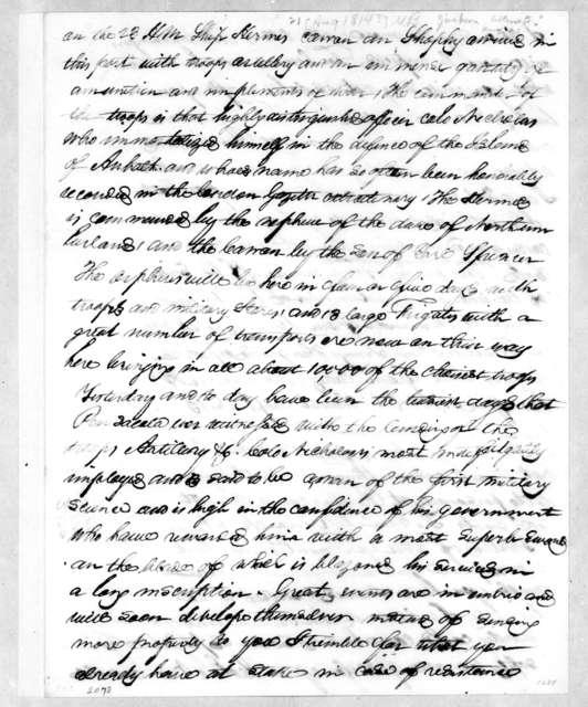 Intelligence, August 21, 1814