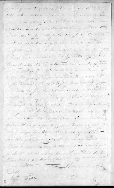 Isaac Brownlow to John Jones, January 15, 1814