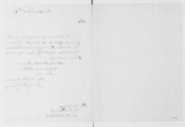 Isaac Shelby to James Madison, February 6, 1814. Transmittal.
