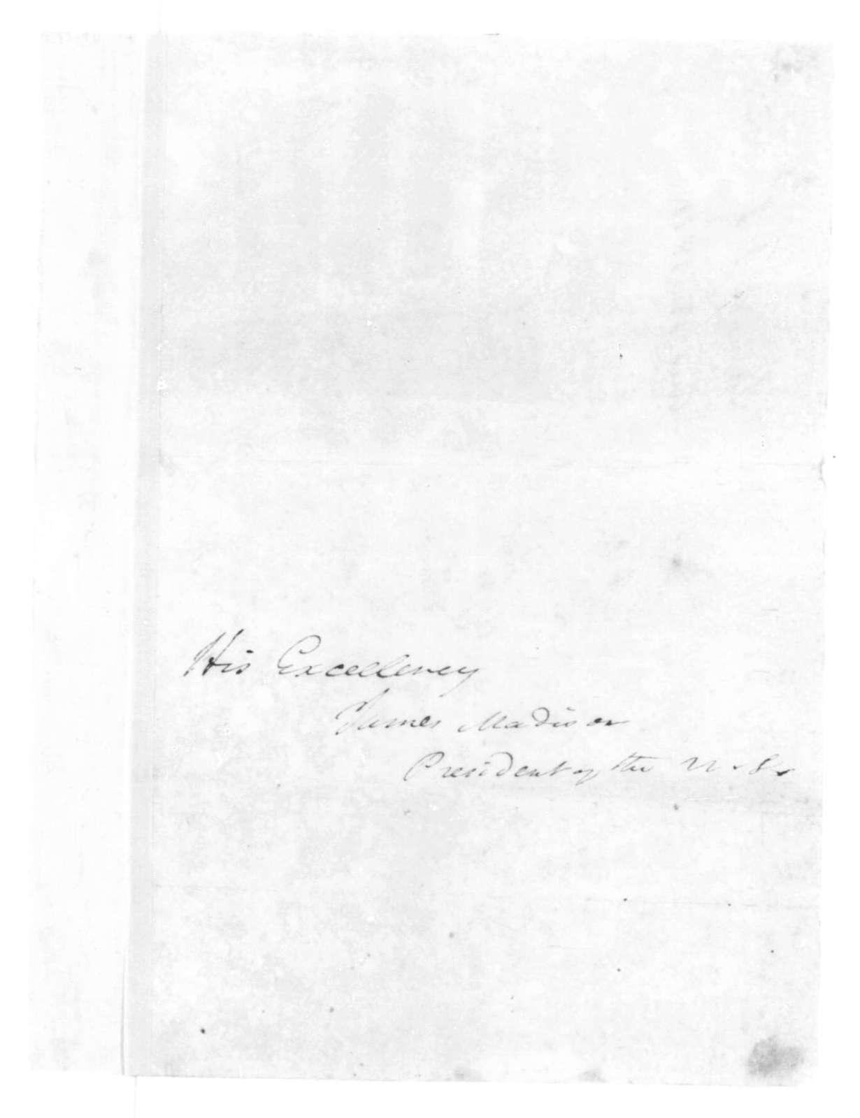 J. S. Skinner to James Madison, August 13, 1814.