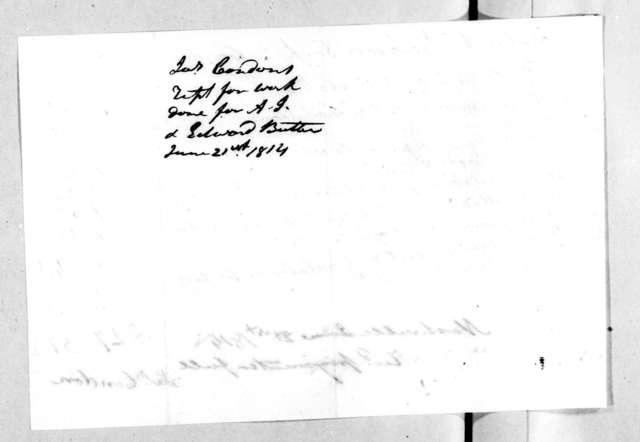 James Condon to Andrew Jackson, June 27, 1814