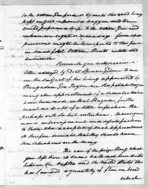 James Winchester to Andrew Jackson, December 17, 1814