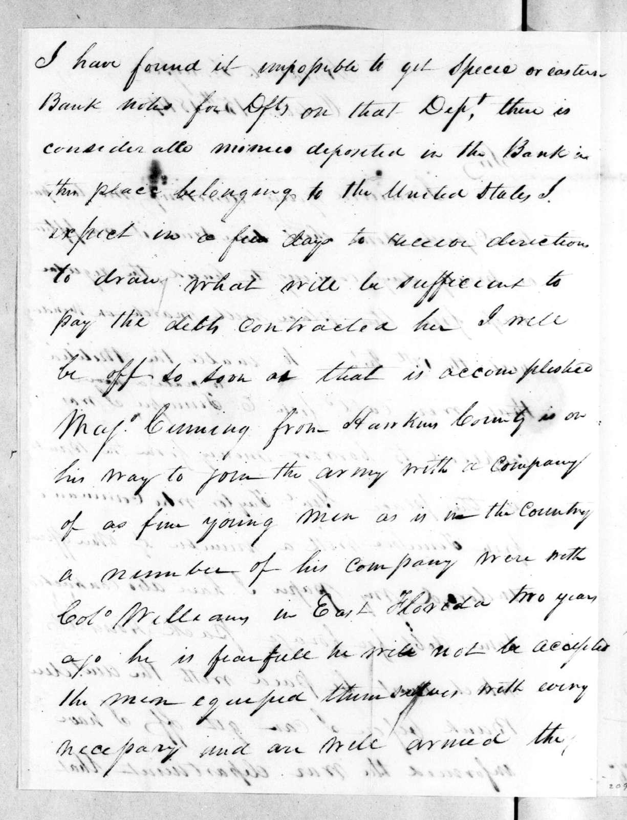 John A. Rodgers to Robert Butler, October 15, 1814