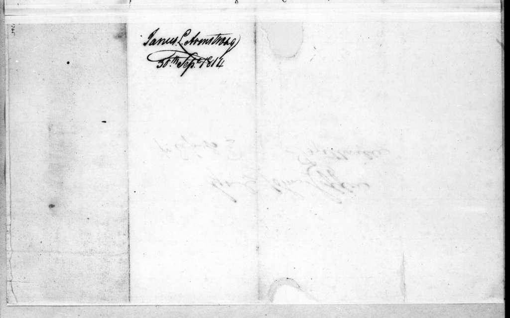 John Armstrong to John Coffee, September 30, 1814
