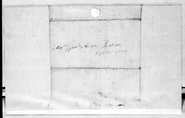 John Bradley to Andrew Jackson, April 7, 1814