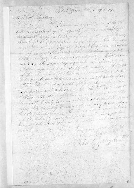 John Bradley to Andrew Jackson, February 24, 1814