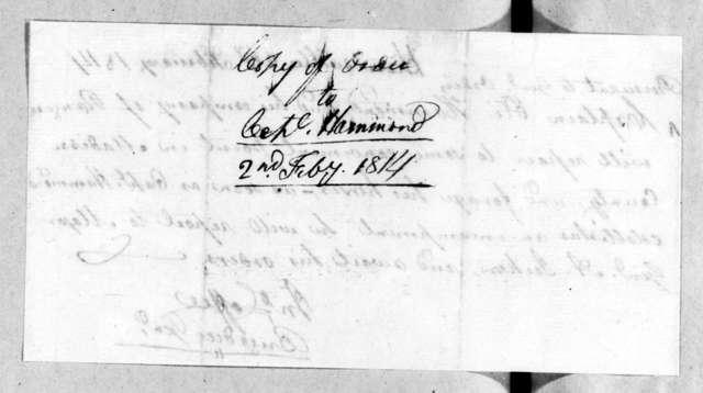 John Coffee, February 2, 1814