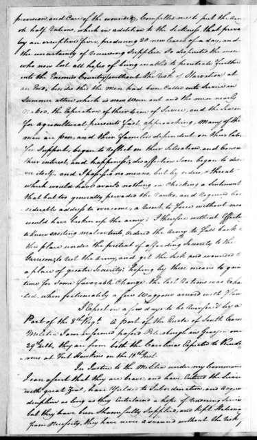 John Floyd to Andrew Jackson, February 4, 1814