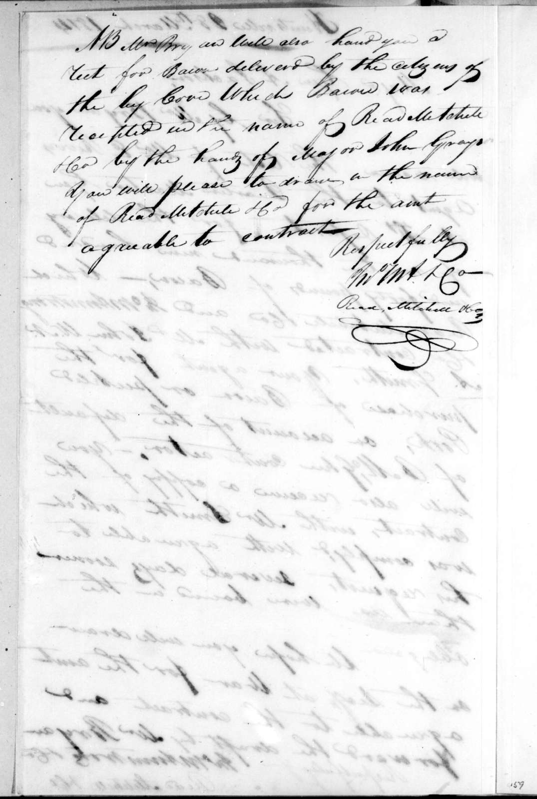 John M. Armstrong to Andrew Jackson, March 28, 1814