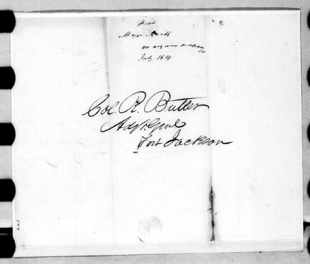 John Nicks to Robert Butler, July 18, 1814
