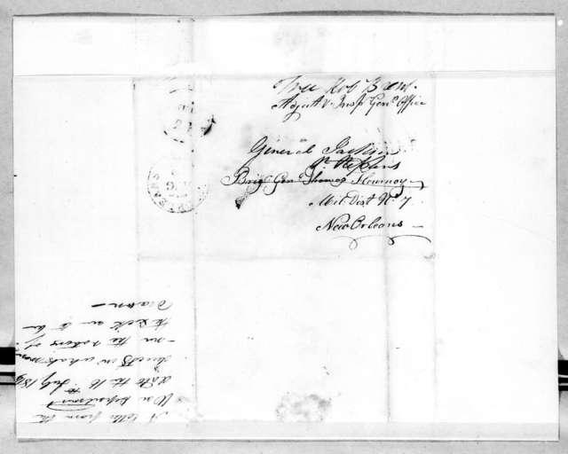John R. Bell to Thomas Flournoy, July 16, 1814
