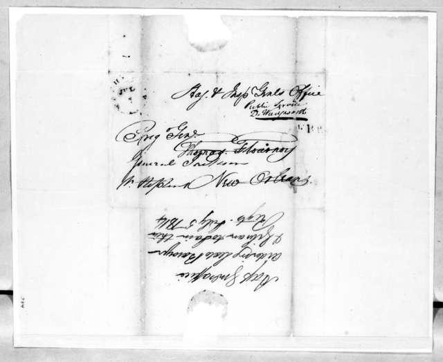 John R. Bell to Thomas Flournoy, July 5, 1814