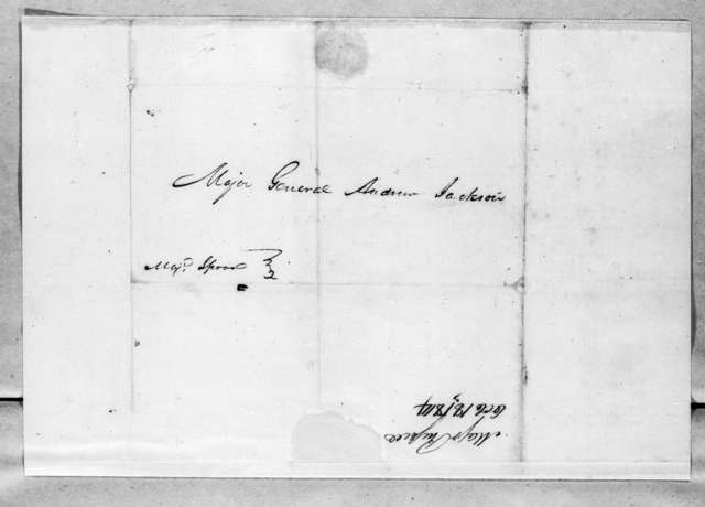 John Russell to Andrew Jackson, October 18, 1814